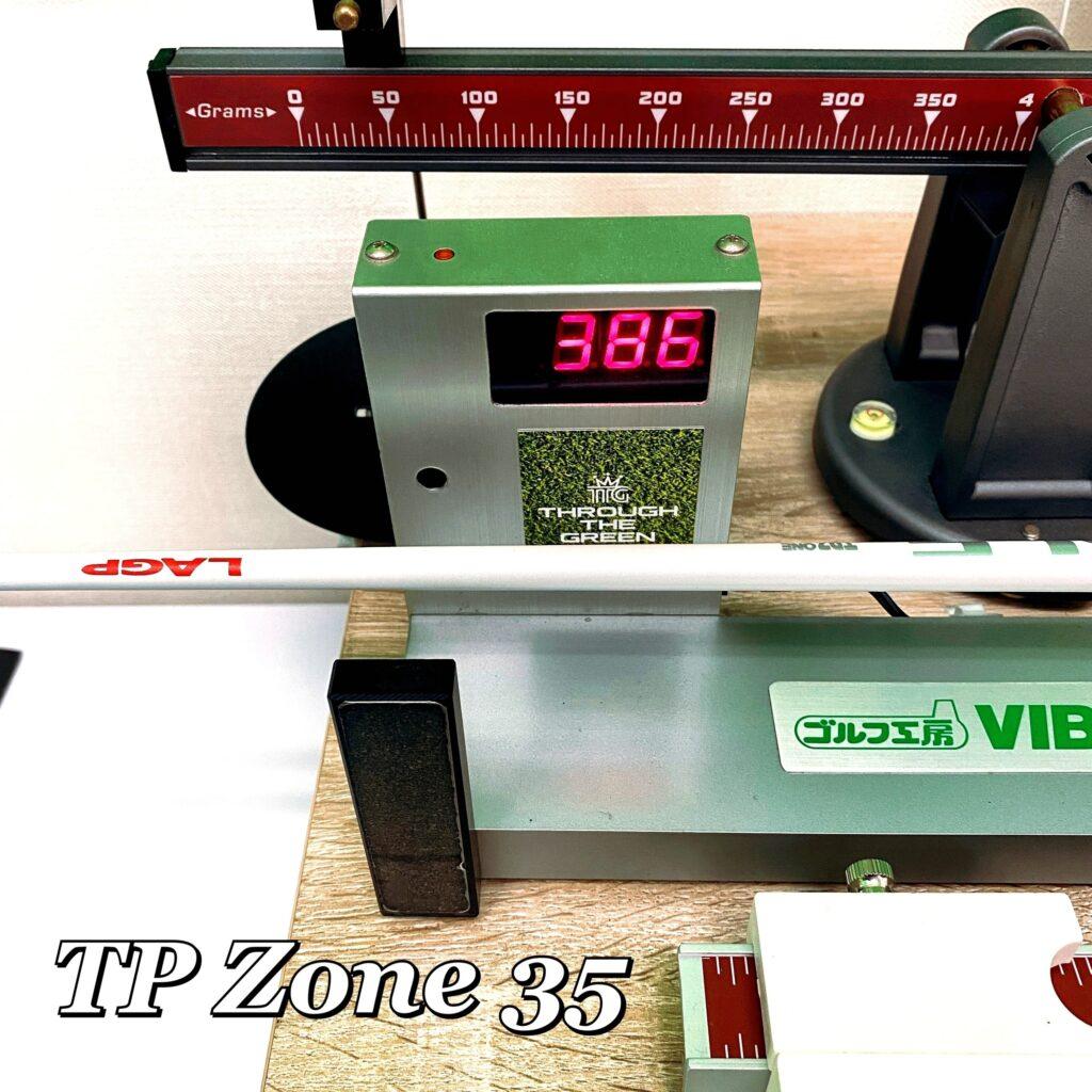 LAGP TP Zone 135 振動数